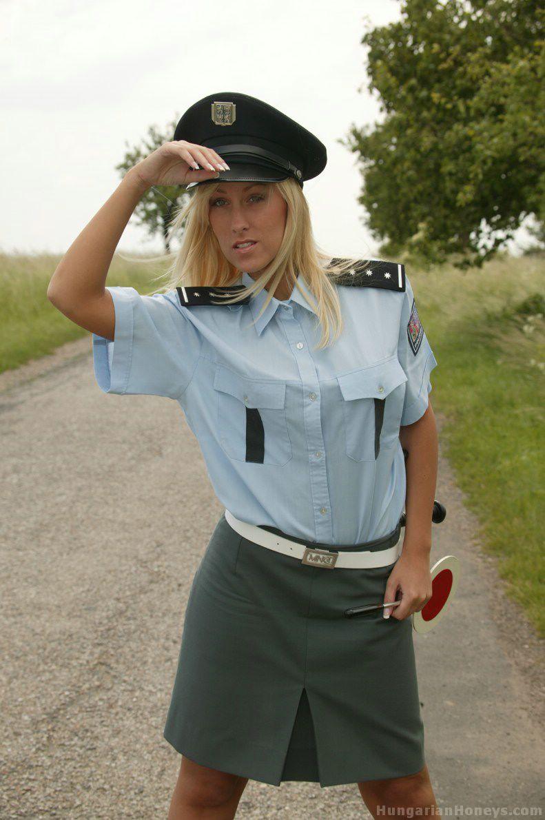 Hot Hot Cop strip search girls