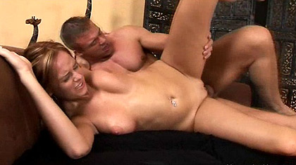 Carmen Gemini gets her titties fucked along with her juicy pussy